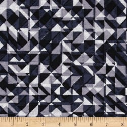 108 In. Quilt Wide Back Prisms Black Fabric