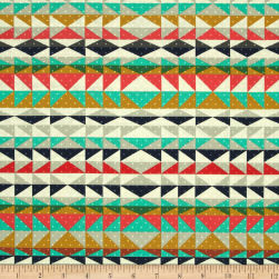 Cotton + Steel Mesa Overlook Serape Coral Fabric