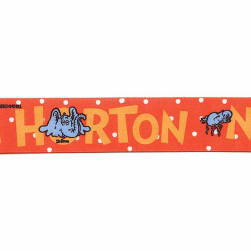 "7/8"" Dr. Seuss Horton Ribbon Red"