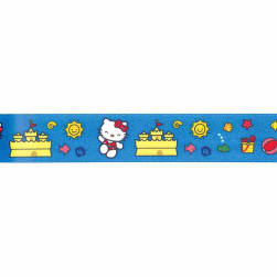 "7/8"" Hello Kitty Ribbon Blue"