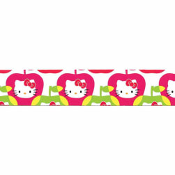 "7/8"" Hello Kitty Apple Ribbon Pink"