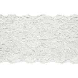 "3 1/4"" Amelia Stretch Lace Trim Ivory"