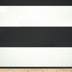 Premier Prints Cabana Stripe Shadow Black Fabric