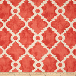 Premier Prints Madrid Slub Salmon Fabric