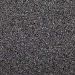 Washable Wool Solid Medium Grey Fabric