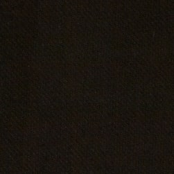 Washable Wool Solid Black Fabric