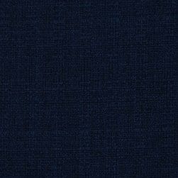 Linaire Crease Resistant Linen Look Navy Fabric