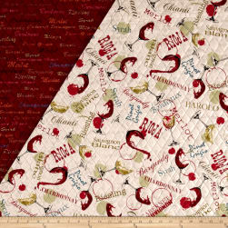 Wine Country Double Sided Quilted
