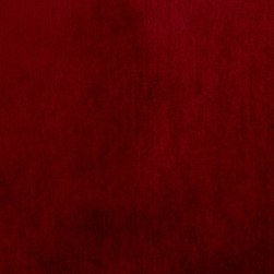 P Kaufmann Obsession Velvet Ruby Fabric