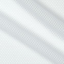 Telio Mod Stretch Mesh White Fabric