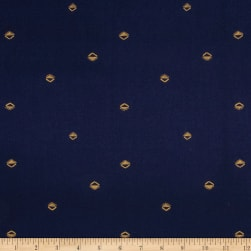 Cotton + Steel Mesa Lawn Sunrise Navy Fabric