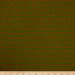 Primo Plaids Flannel Plaid Green/Red Fabric