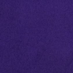 Warm Winter Fleece Solid Purple Fabric