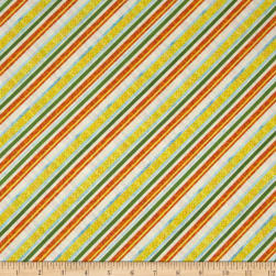 Citrus Grove Bias Stripe