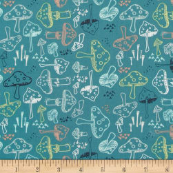 Art Gallery Hello Bear Morel Grove Pond Fabric