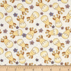 Giraffe Family Baby Coordinate Multi Fabric