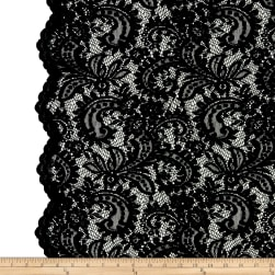 Telio Amelia Stretch Lace Black