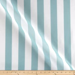 RCA Vertical Stripe Sheers Aqua Mist Fabric
