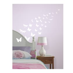 Glow-In-Dark Butterflies Wall Decals