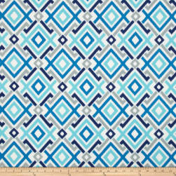 Swavelle/Mill Creek Indoor/Outdoor Gareth Aquatic Fabric