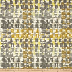 Swavelle/Mill Creek Indoor/Outdoor Quibble Brushed Gold Fabric