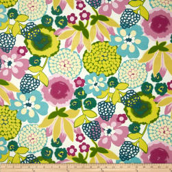 Swavelle/Mill Creek Indoor/Outdoor Darnay Very Berry Fabric
