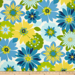 Swavelle/Mill Creek Indoor/Outdoor Orlato Caribbean Fabric