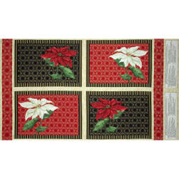 Christmas Joy Placemat Panel Multi Fabric
