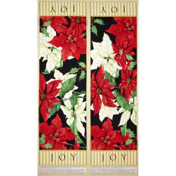 Christmas Joy Runner 24' Panel Fabric