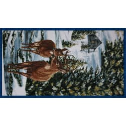 Winter Stillness Flannel Craft Panel Multi