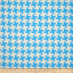 P Kaufmann Indoor/Outdoor Houndstooth Jacquard Marina Fabric
