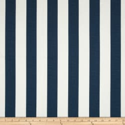 Premier Prints Canopy Stripe Primary Navy Fabric