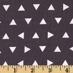 Kaufman Remix Triangles Scatter Grey