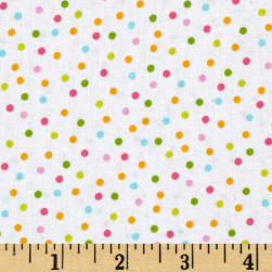Kaufman Remix Scattered Small Dots Spring Fabric