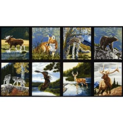 "Kaufman Bringing Nature Home 24"" Panel Nature"