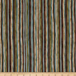 Marrakech Metallic Stripe Multi Fabric