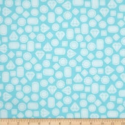 Kaufman This and That Diamonds Crystal Fabric