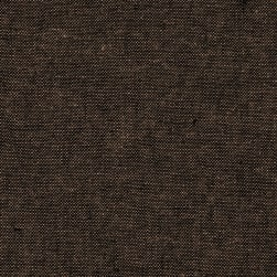 Kaufman Essex Yarn Dyed Linen Blend Espresso Fabric