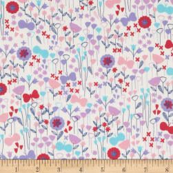 Kaufman London Calling Lawn Flower Buds Spring Fabric