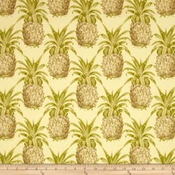 Waverly Sun N Shade Pineapple Grove Natural Fabric
