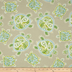Tommy Bahama Indoor/Outdoor Tranquil Turtles Jungle Fabric