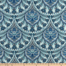 Tommy Bahama Indoor/Outdoor Crescent Beach Riptide Fabric