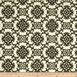 Tommy Bahama Indoor/Outdoor Medallion Isle Black Sand Fabric