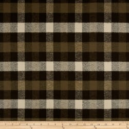 Kaufman Mammoth Flannel Plaid Green Fabric