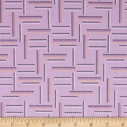 Rumble Dotted Stripe Lavender