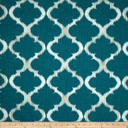 Richloom R Gallery Kobe Teal Fabric