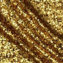 Starlight Milton Sequined Fabric Gold Fabric