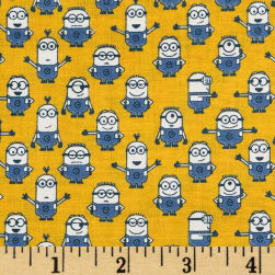 Universal Despicable Me 1 in A Minion Graphic Set Minions Yellow