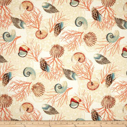 Waverly Shell We Dance Sandcastle Fabric