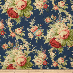 Waverly Sanctuary Rose Heritage Fabric